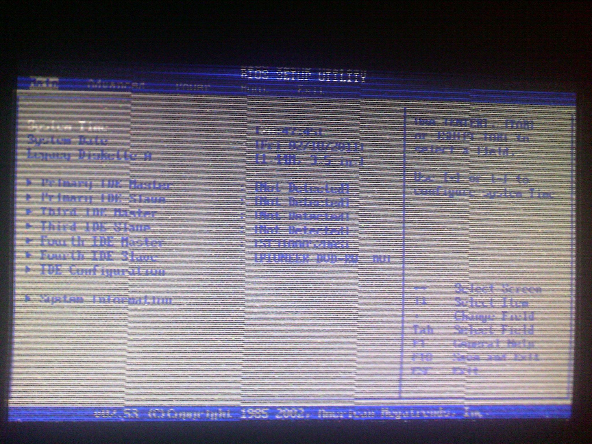 Артефакт видеокарты GF 9800 GT